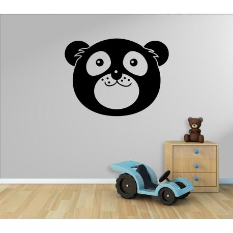 Wandtattoo großes Bärengesicht Bär
