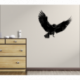 Wandtattoo Geier mit ausgestreckten Flügeln tanzt zur Melodie der Natur